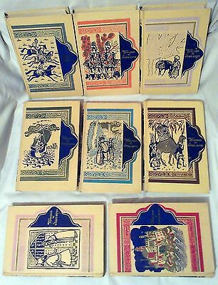 Arab Fairy Tale Thousand and One Nights Set 8 russian book 1959 patterns overs 2