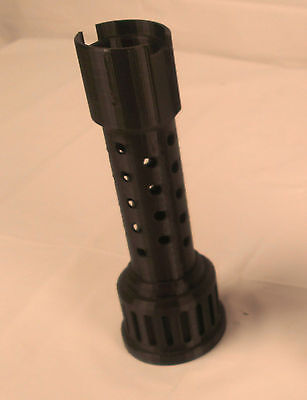 3D Printed – Vented Design Nerf Barrel Extension for Nerf Silencer Dart Gun +