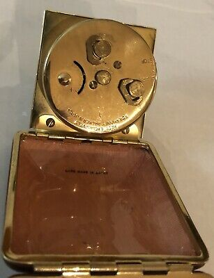Vintage Phinney Walker Black Dial & New Seth Thomas Travel Alarm Clocks-Estate 9