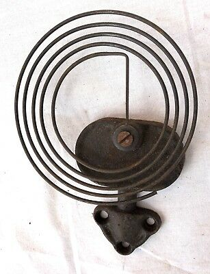 5 Vintage / Antique Bracket Mantel Wall Clock Gongs & Stands Rods & Stand H03 4