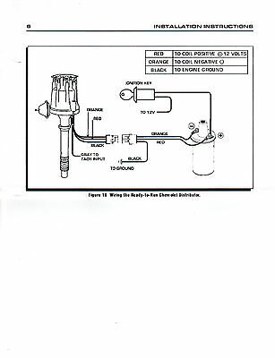 small cap ford 5 0l 302 efi to carb conversion hei distributor +50,000  volt coil