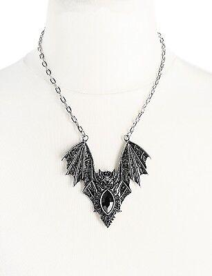 Gothic okkult Witchy Wicca Collier Halskette Fledermaus Restyle Oriental Bat