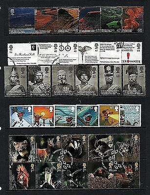 GB Stamps 2004 Commemoratives - Fine used (Multiple listing) 2