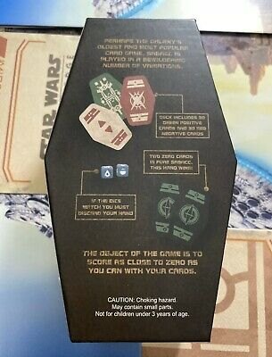 Disney Star Wars: Galaxy's Edge SABACC Cards Deck Box Unopened Brand New 7