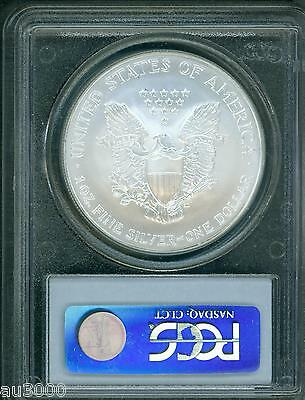 2006 American Silver Eagle S$1 ASE PCGS MS69 MS-69 Premium Quality PQ+ !!! 2
