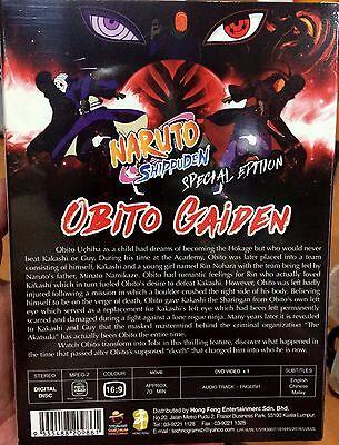 *ENGLISH DUB ~ Naruto Shippuden Special Movie: Obito Gaiden ~ DVD ~ Region  Free
