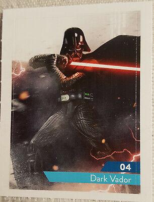 Cartes vignettes Star Wars Leclerc 2019 à l'unité stickers autocollant au choix 3