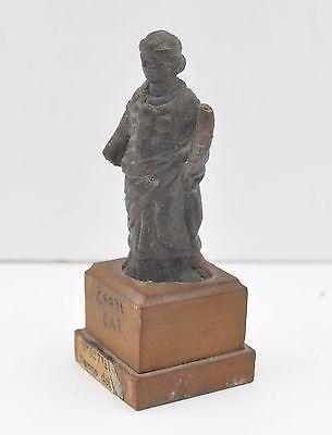 "Ancient Aphrodite Bronze Female 2.55"" Figure 1St/2Nd Century Ad 2"