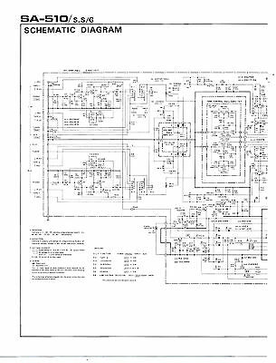 Pioneer - Sa-510 Operating Instructions  ( Original Catalog ) 2