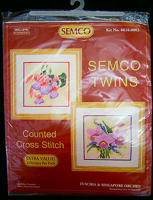 Semco counted cross-stitch kit Red Lacewing Butterfly