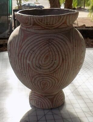 Antique, 400 BC-200 AD Thai Ban Chiang Earthenware Jar with Book 5