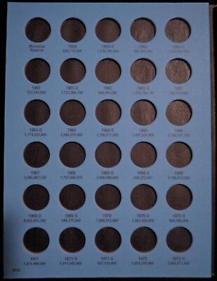 Whitman Lincoln Memorial Cents #1 & 2 1959-2008 Coin Folders, Albums Books 3