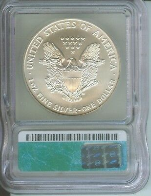 1998 American Silver Eagle ASE S$1 ICG MS69 MS-69 BEAUTIFUL Premium Quality PQ++ 2