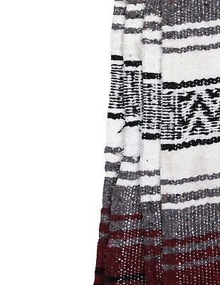 """Two (2) Falsa Blankets - Authentic Mexican 74"""" x 50"""" Random colors 3"""