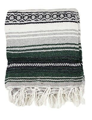 """Two (2) Falsa Blankets - Authentic Mexican 74"""" x 50"""" Random colors 4"""