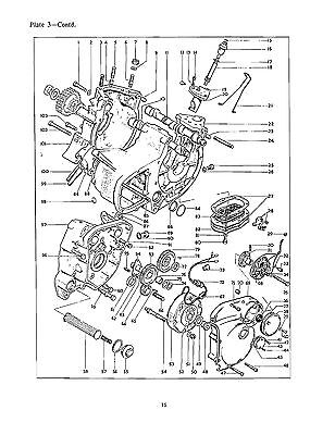 Bsa Parts Manual Book 1968 A75 Rocket 3