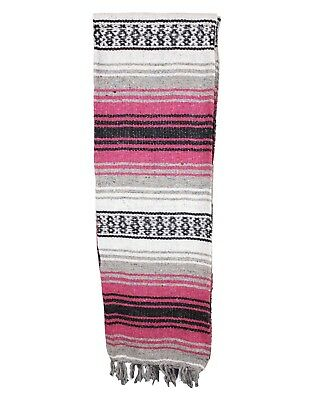 """Two (2) Falsa Blankets - Authentic Mexican 74"""" x 50"""" Random colors 5"""