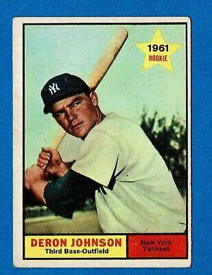 1961 Topps Baseball All-Stars & HOF Single Cards U-Pick 4
