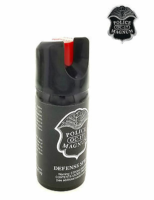 3 PACK Police Magnum Pepper Spray 2 oz ounce Safety Lock Self Defense Security 10