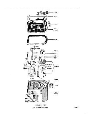 WICO MAGNETO SERVICE Parts Manual For XVD XVE Magnetos John Deere 436