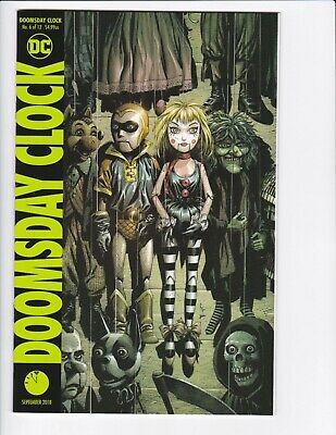 Doomsday Clock #1-9 + Lenticular Variant (Hq Scans) Dc Comics 2017 - Hbo! 3 4 6 7