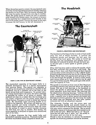 logan lathe instruction manual for models 1805, 1806, 1810, 1811 *350 2