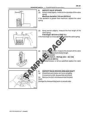 Toyota 1Hd-T 1Hd-Ft 1Hd-Fte 1Pz 1Hz Diesel Engine Workshop Service Manual ~ Dvd 2