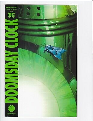 Doomsday Clock #1-9 + Lenticular Variant (Hq Scans) Dc Comics 2017 - Hbo! 3 4 6 8