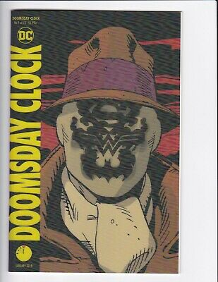 Doomsday Clock #1-9 + Lenticular Variant (Hq Scans) Dc Comics 2017 - Hbo! 3 4 6 2