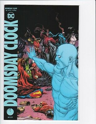 Doomsday Clock #1-9 + Lenticular Variant (Hq Scans) Dc Comics 2017 - Hbo! 3 4 6 9
