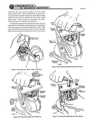 FAIRBANKS MORSE MAGNETO Instruction & Parts Manual for FM-J4A & FM-J4B Mags  419