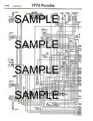 1976 mercedes benz 280 280c 76 wiring diagram guide chart 76bk 2