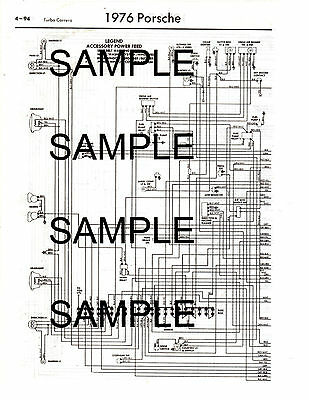 1981 PORSCHE 911SC 911 Sc 81 Wiring Diagram Guide Chart 81Bk ... on 356c wiring diagram, es350 wiring diagram, porsche wiring diagram, carrera wiring diagram, turbo wiring diagram, saturn s series wiring diagram,