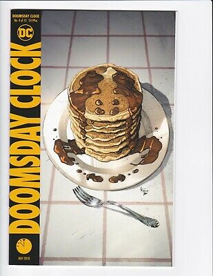 Doomsday Clock #1-9 + Lenticular Variant (Hq Scans) Dc Comics 2017 - Hbo! 3 4 6 5
