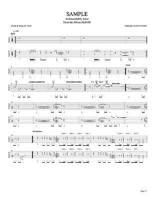 THUNDER GUITAR TAB BACKSTREET SYMPHONY Lessons on Disc - $2.74 ...