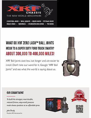 Xrf Lifetime Warranty Upper Lower Ball Joint Kit F250 F350 Ram 2500