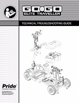 ultimate service guide for pride gogo scooter technical repair rh picclick com Pride Electric Scooter Manuals Pride Legend Accessories