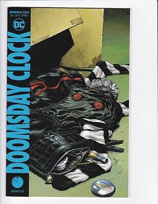 Doomsday Clock #1-9 + Lenticular Variant (Hq Scans) Dc Comics 2017 - Hbo! 3 4 6 3