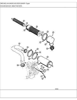 Case 1840 Skid Steer Loader Service Repair Manual Parts Catalog