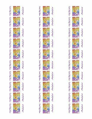 30 Winnie the Pooh Baby Shower Stickers Lollipop Labels Party Favors 1.5 in 2