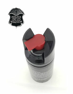 3 PACK Police Magnum Pepper Spray 2 oz ounce Safety Lock Self Defense Security 9