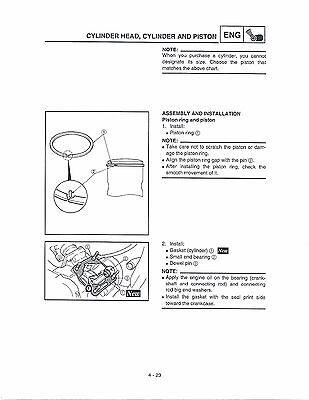 yamaha yz85 complete workshop repair manual 2006
