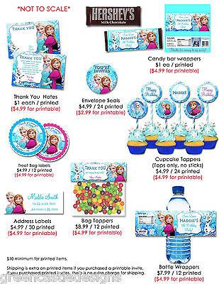 photo relating to Frozen Invites Printable named DISNEY FROZEN Invites * Tailored Frozen Bash Invites Elsa Personalized