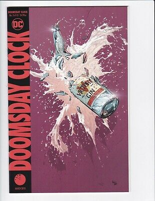 Doomsday Clock #1-9 + Lenticular Variant (Hq Scans) Dc Comics 2017 - Hbo! 3 4 6 4