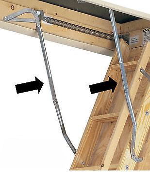 Werner 55 1 Attic Ladder Spreader Hinge Arms Mfg 2006