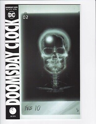 Doomsday Clock #1-9 + Lenticular Variant (Hq Scans) Dc Comics 2017 - Hbo! 3 4 6 6