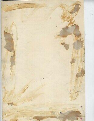 ORIGINAL ALVIN HOLLINGSWORTH AFRICAN AMERICAN ARTIST CARTOON!!!! ~7.5 x 11 in b 2