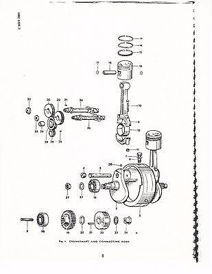 Triumph Parts Manual Book 1978 Bonneville 750 T140v Tiger 750