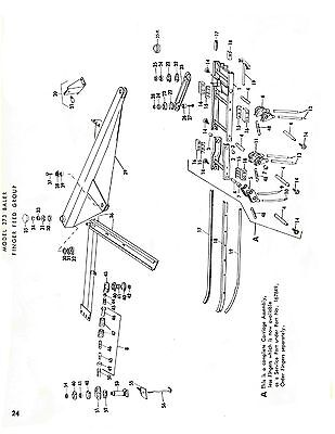 New Holland 273 Hay Baler Hayliner Parts Catalog Book List Manual Nh