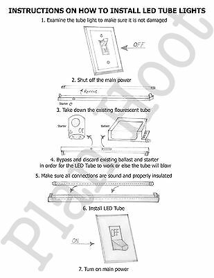 R17d Wiring Led Tube - Schematic Diagrams on